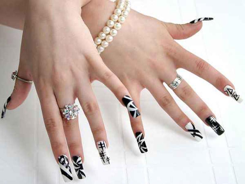 Гелевые ногти. 205 фотографий модного нейл-дизайна 69
